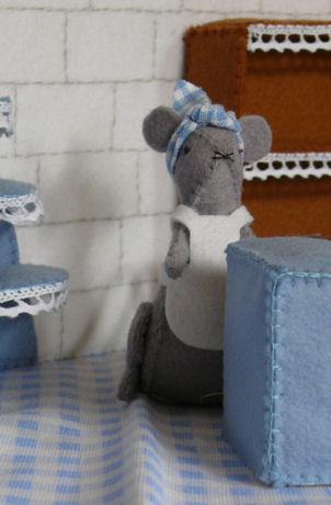 Madeleine in haar .... winkel weblog
