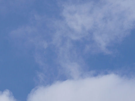 Blauwe lucht weblog