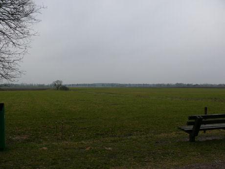 Uitzicht op de weilanden weilanden