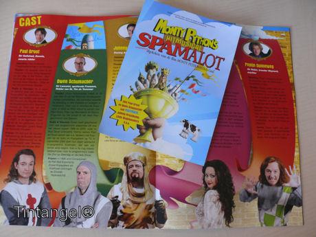Spamalot weblog