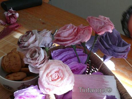 Roze tinten w