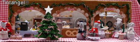 Kerst in de muizen straat web