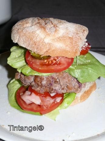 Hamburger w