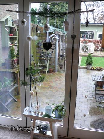Kerst voor de tuindeuren web