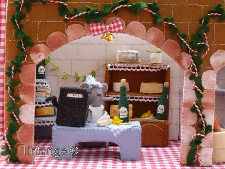 Kaaswinkel Kerst bw