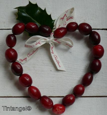 Cranberry hart op wit 2 weblog