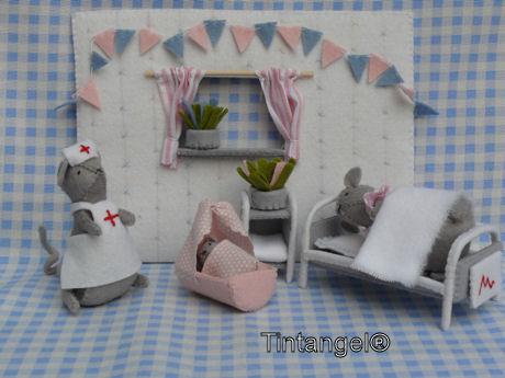 Geboorte meisje kamer weblog