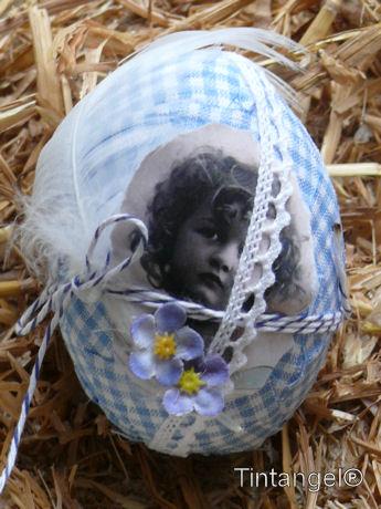 Lichtblauw ei