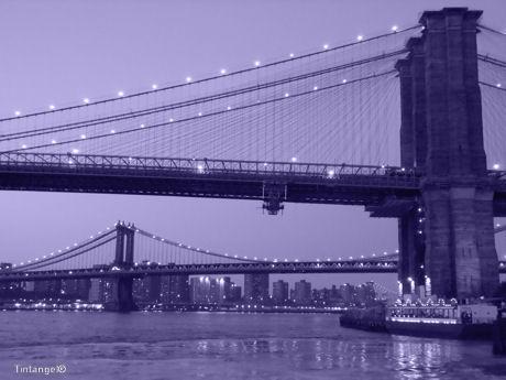 Brooklyn en Manhattan Bridge