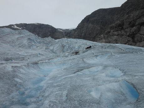 Gletsjerwandeling 7