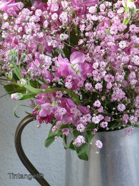 Roze bloemen (2) web