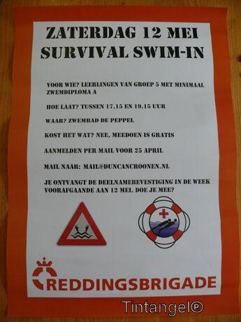 Poster Survival Swim-In web