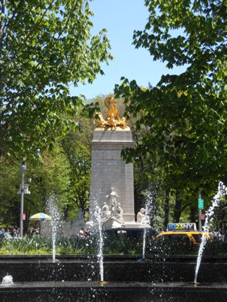 Ingang Central Park