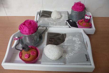 Cupcakemuisje roze web