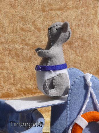 Morris op  de duikplank web