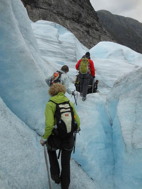 Gletsjerwandeling 8