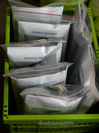 Krat vol pakketten