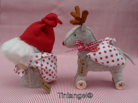 Bringing X-MAS Gifts en Rolling Reindeer
