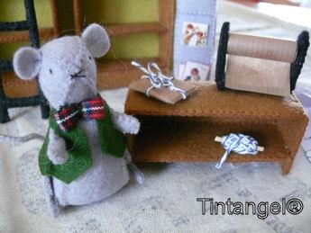 Mortimer bij de toonbank