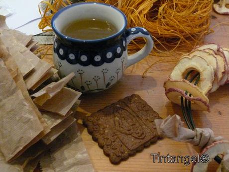Kopje thee en koekje erbij