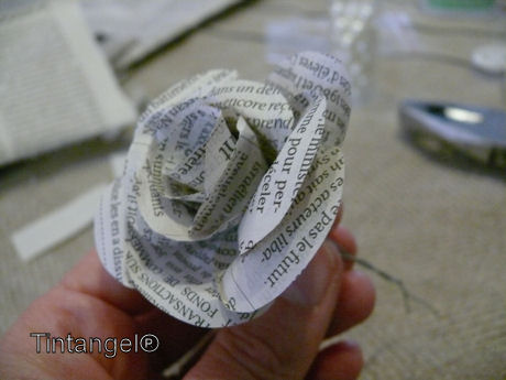 Roosje van papier