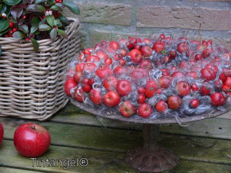 Bergthee en appels