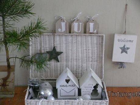 Witte Kerst Huis : Meer kerst in huis en een preview een witte rondom tintangel