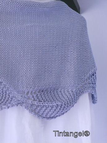 Sjaal achter