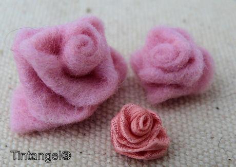 Satijnliint roosje