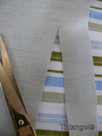 Knippen langs de draad