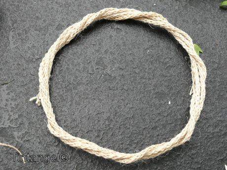 Cirkel van vormtouw