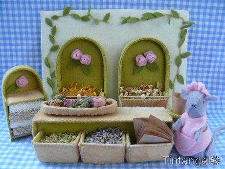 Lavender & Rose winkel +web
