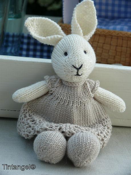 Geen Little Cotton Rabbit Maar Een Klein Wollen Konijntje Rondom