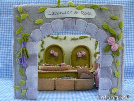 Lavender & Rose gevel en winkel web