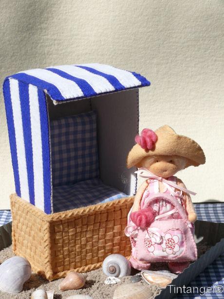 Strandstoel met Naar het Strand