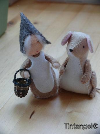 Muis en meisje