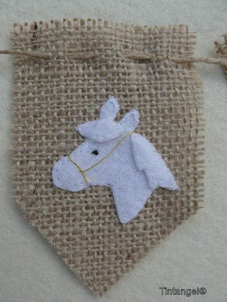 Vlaggetje paard blog