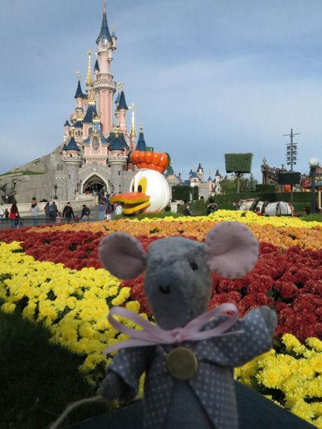Muisje in Disneyland van Wilma