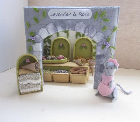Lavender & rose winkel en gevel Francine