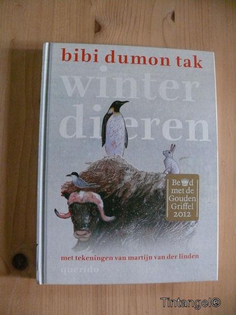 Boek winterdieren