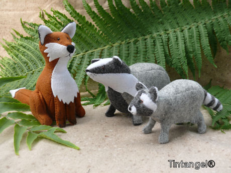 Das, vos en wasbeer samen blog