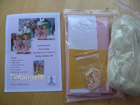 Materiaal pakket First Ladies