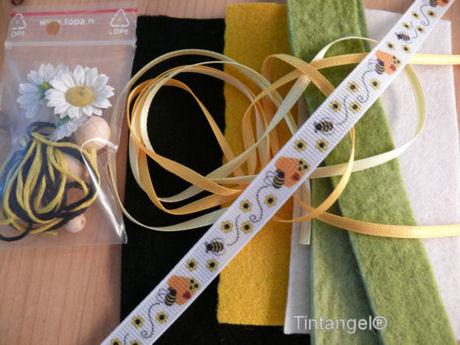 Materiaalpakketje bijenlichtje blog