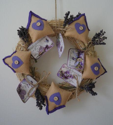Lavendel krans Marjolein Odink