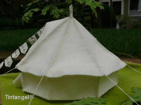 Bell tent achterblog