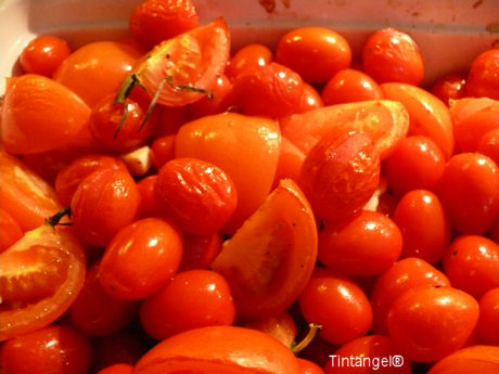 Gebakken tomaatjes