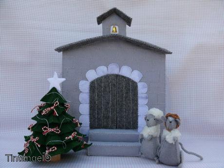 Kerkjes Kerst landscape blog
