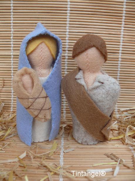 Jozef, Maria en kindje blog