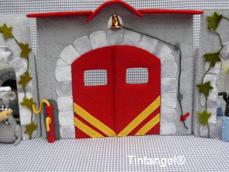 Brandweerkazerne zonder auto in de straat blog