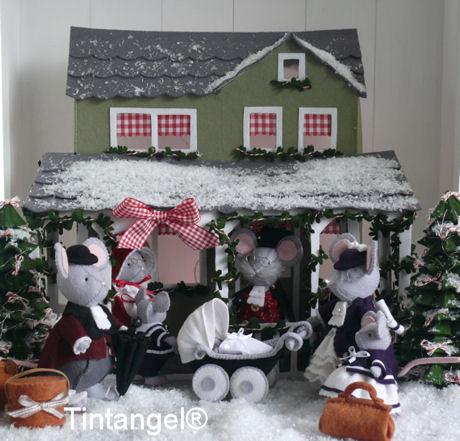 Kersthuis bij dag 1 bijgesneden blog